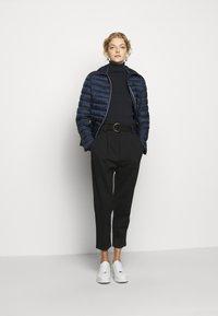 Lauren Ralph Lauren - MATTE FINISH SHORT JACKET - Light jacket - navy - 1