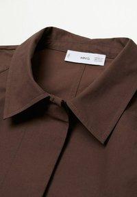 Mango - Classic coat - marron - 7