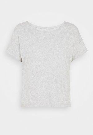 T-shirts - mottled grey