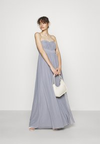 Nly by Nelly - CONVERTIBLE GOWN - Robe de cocktail - dusty blue - 1