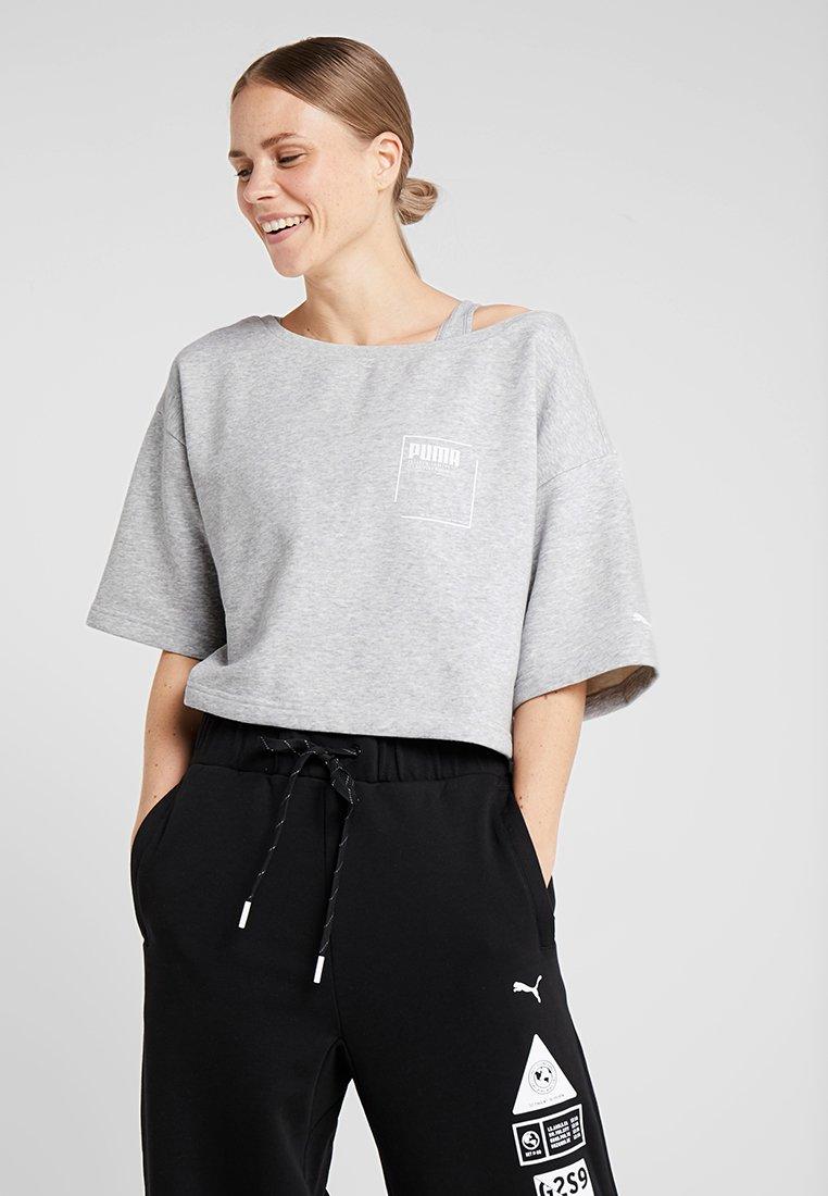 Puma - Sweater - light grey heather