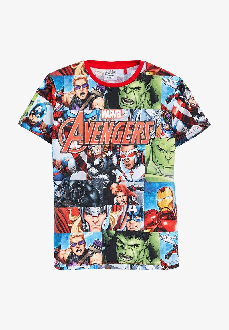 Next - AVENGERS - Print T-shirt - red