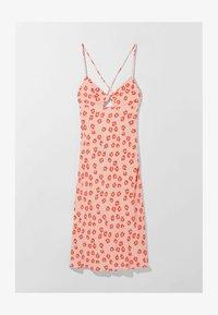 Bershka - MIT BLUMENPRINT  - Sukienka z dżerseju - pink - 5