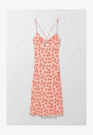 MIT BLUMENPRINT  - Jersey dress - pink