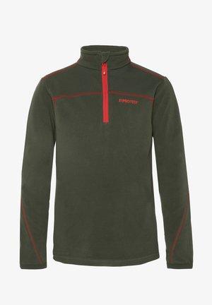 ZIP - Sports shirt - huntergreen