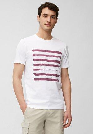 Print T-shirt - multi/acai