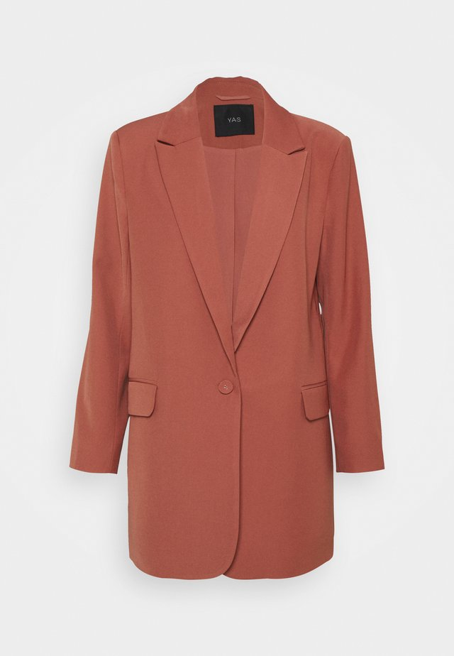 YASULLO - Manteau court - dusty cedar