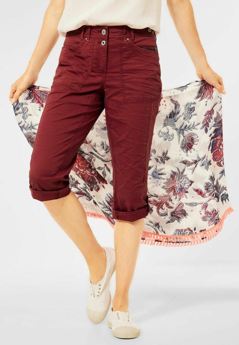 Cecil - Denim shorts - braun
