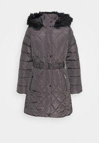 LONG PUFFER COAT - Talvitakki - charcoal