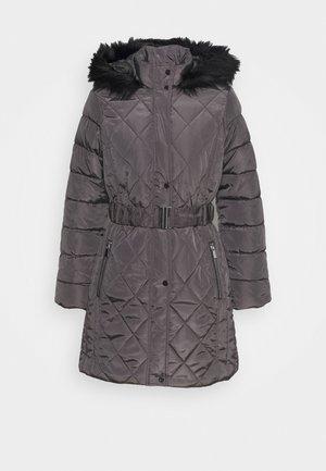 LONG PUFFER COAT - Winterjas - charcoal