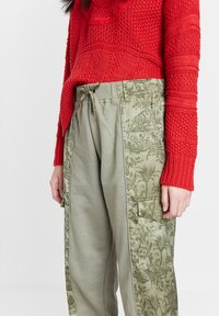 Desigual - Trousers - green - 3