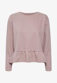 Cream - CRTALLI - Sweatshirt - woodrose melange - 4