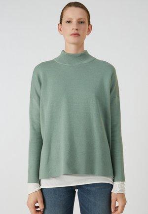 YUNAA - Jumper - thyme green