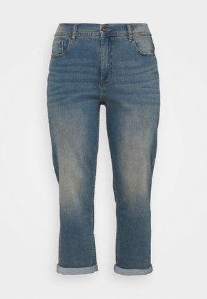 BOYFRIEND - Relaxed fit jeans - light vintage blue