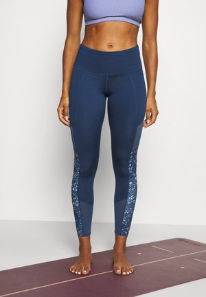 LEGGING DESERT FLOWER - Leggings - dark denim