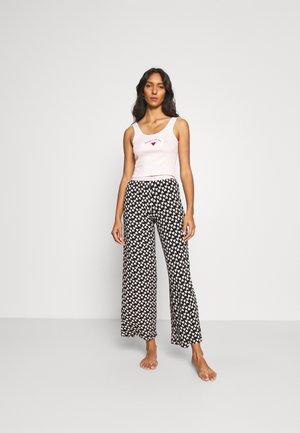 NO PLACE VEST HEART PANT MIX - Pyjamas - black
