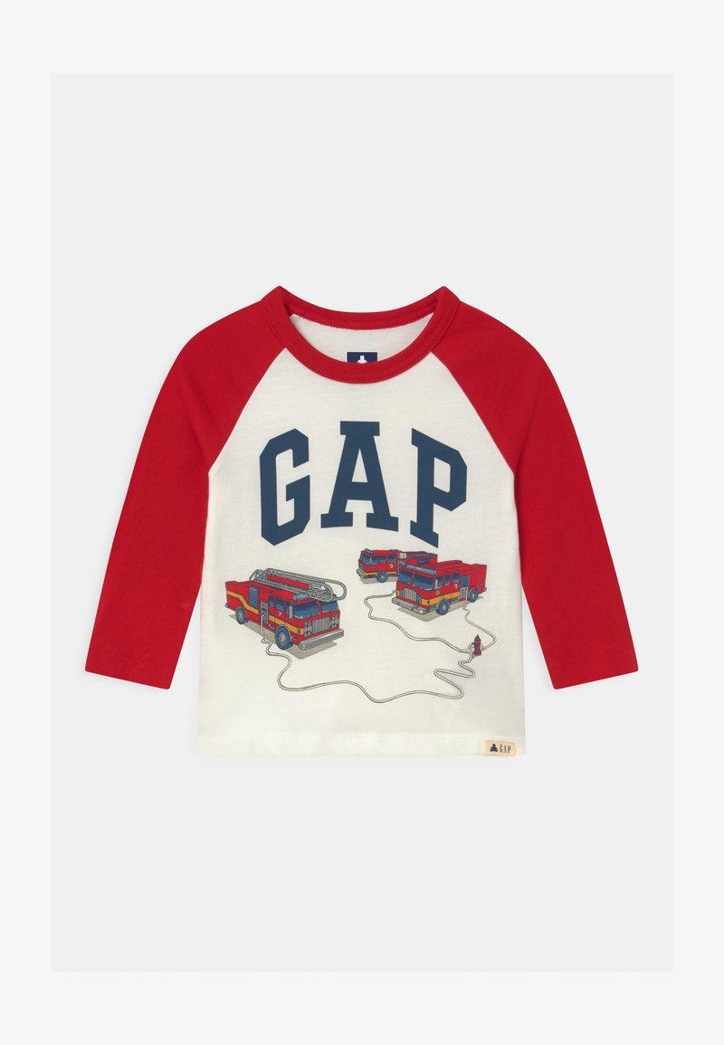GAP - TODDLER BOY LOGO - Longsleeve - new off white