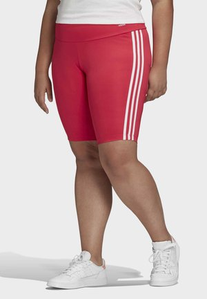 SHORT TIGHTS (PLUS SIZE) - Sports shorts - pink
