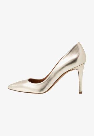 High heels - platin