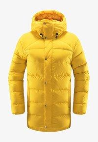 Haglöfs - NÄS DOWN JACKET  - Down jacket - pumpkin yellow - 3