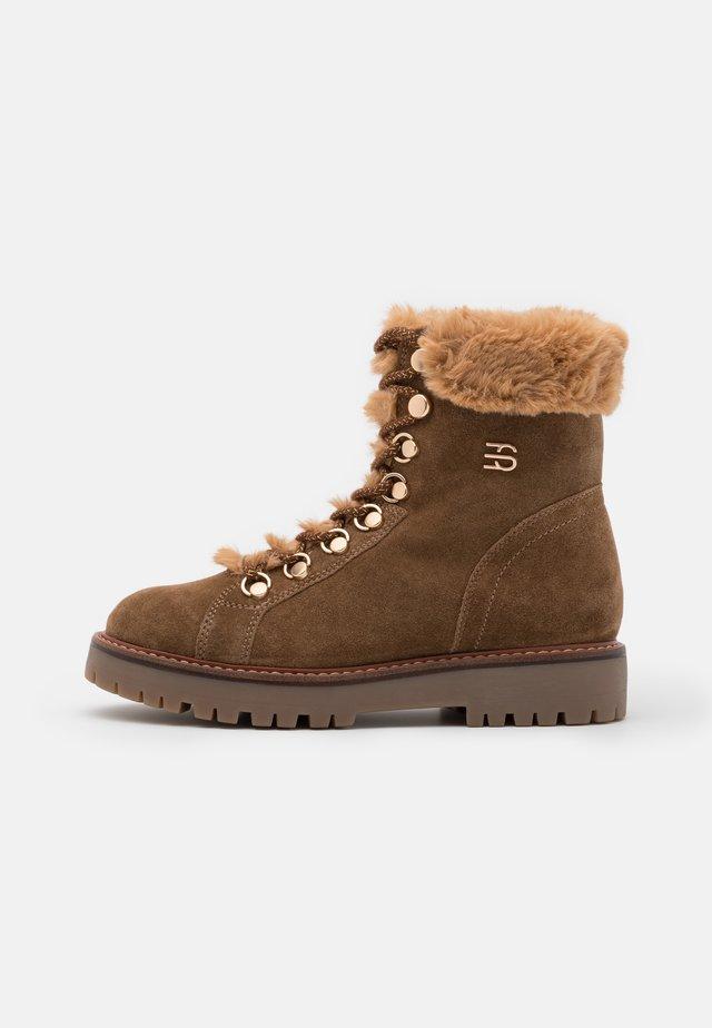 SANREMO BOOTIE - Winter boots - camel