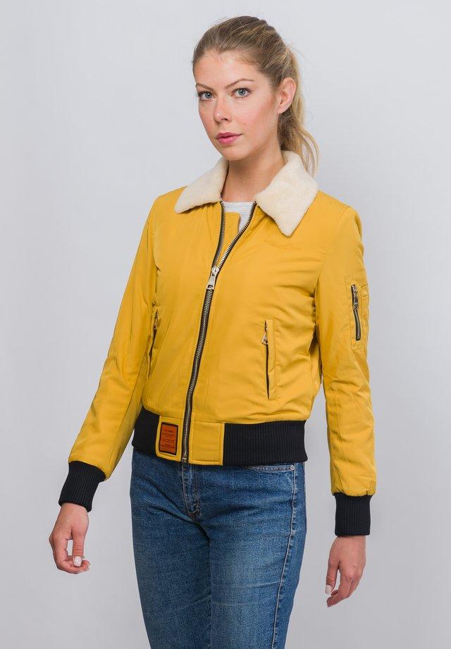 BARCELONE - Winter jacket - yellow