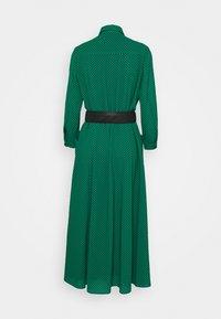Pinko - MASK ABITO - Maxi dress - verde/nero - 1