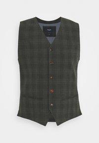Jack & Jones PREMIUM - JPRBLUCONNOR WAISTCOAT - Waistcoat - dark grey - 0
