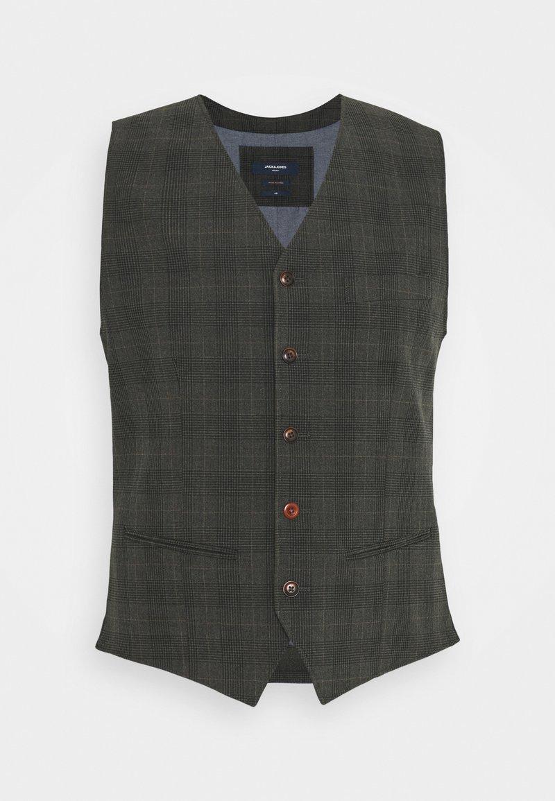 Jack & Jones PREMIUM - JPRBLUCONNOR WAISTCOAT - Waistcoat - dark grey