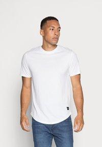 Only & Sons - ONSMATT LIFE LONGY TEE 7 PACK - T-shirt basic - white/cabernet melange/forest night melange - 6
