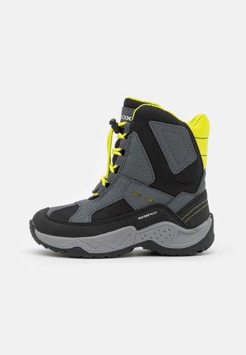 SENTIERO BOY WPF - Winter boots - grey/lime