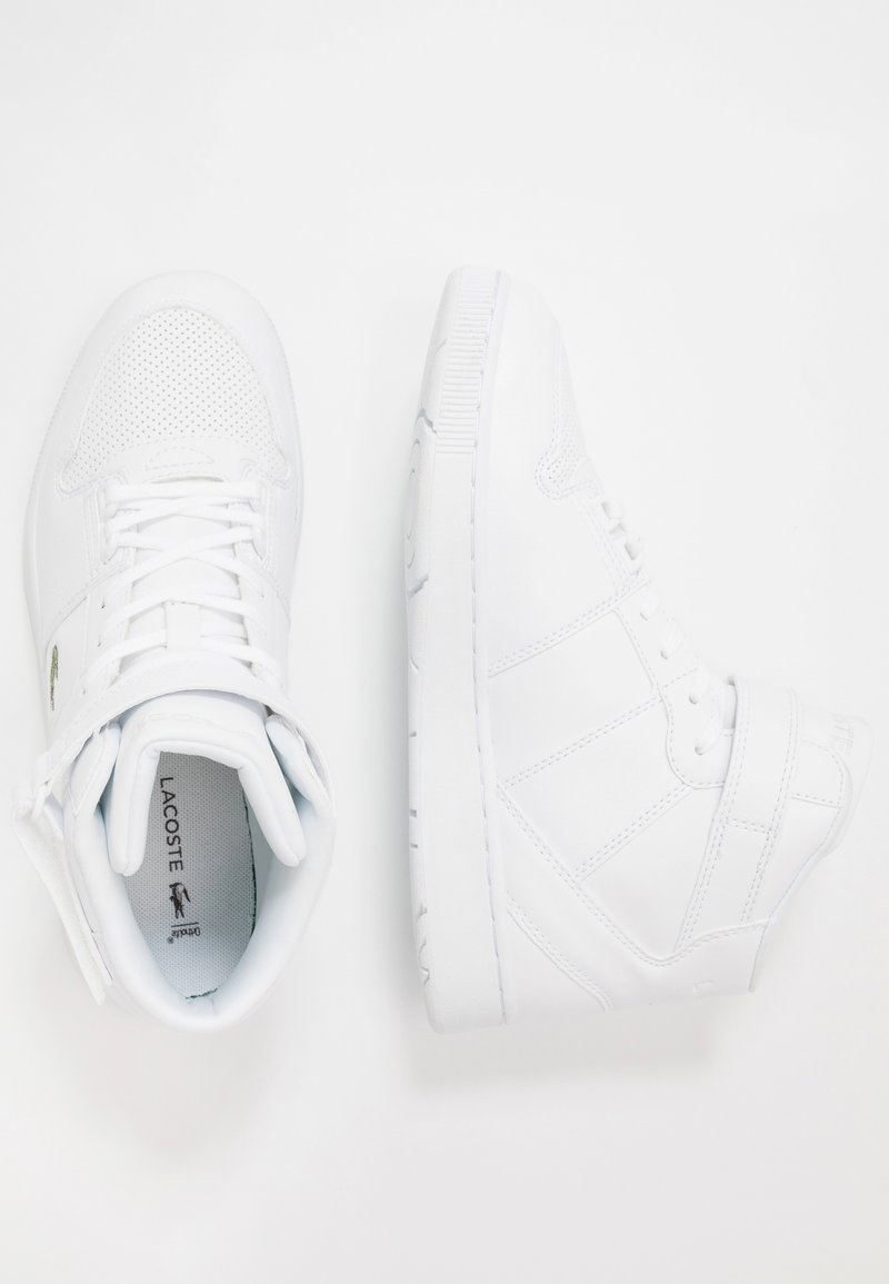 Lacoste - TRAMLINE MID  - High-top trainers - white