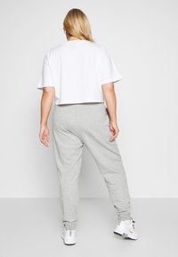 Nike Sportswear - PANT - Tracksuit bottoms - grey heather/white - 2