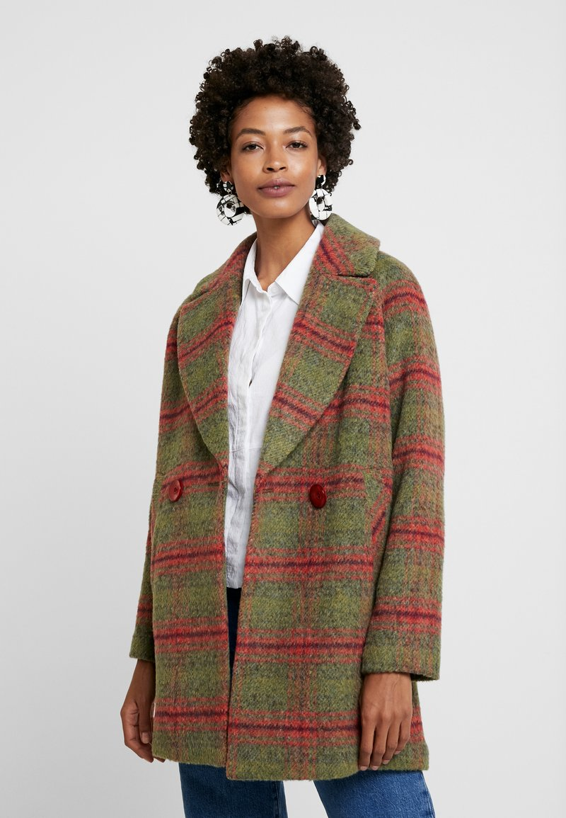 King Louie - AMELIE COAT MISSISSIPPI - Classic coat - olive green