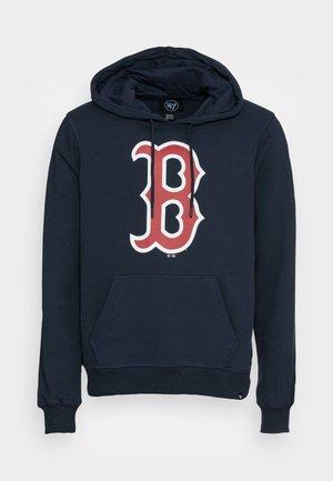 BOSTON RED SOX IMPRINT BURNSIDE HOOD - Bluza - fall navy