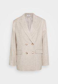 DIANA - Krátký kabát - karamell