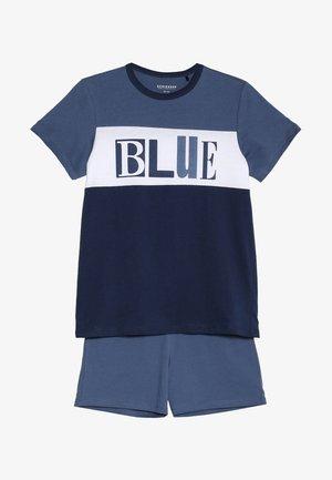 KURZER SCHLAFANZUG JUNGS - Pyjama set - jeansblau