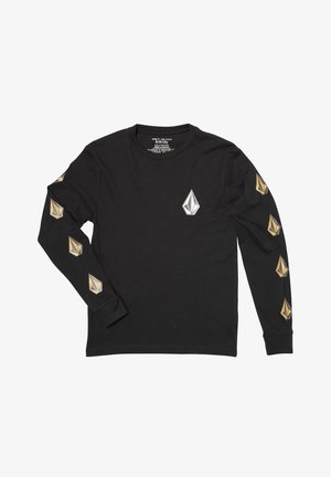 DEADLY STONE  - Camiseta de manga larga - black