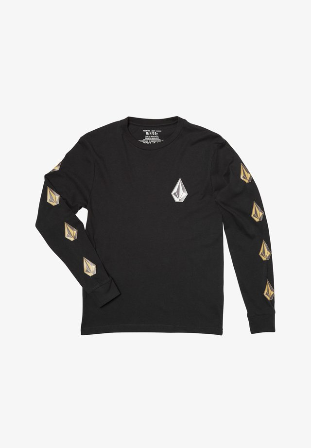 DEADLY STONE  - Long sleeved top - black
