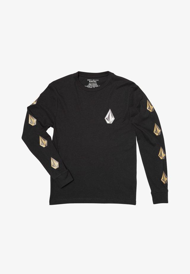 DEADLY STONE  - T-shirt à manches longues - black