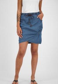 alife & kickin - LUCYAK  - Wrap skirt - denim - 0