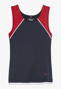 Fila - THEKLA - Top - peacoat blue/white/red - 0