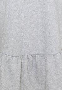 New Look Curves - DROP HEM DRESS - Denní šaty - grey niu - 6