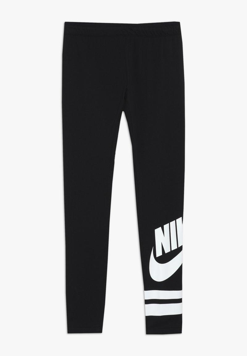 Nike Sportswear - FAVORITE  - Legíny - black/white