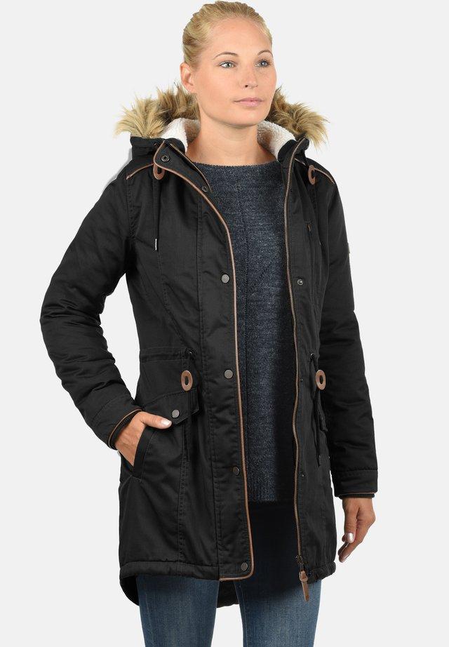 ANNA - Winter coat - black