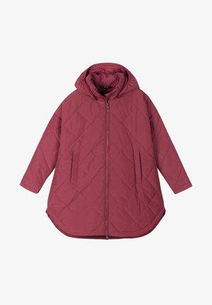 Winter coat - jam red