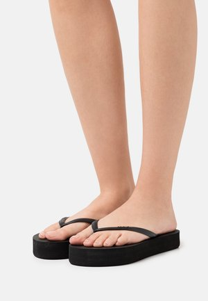 FRANKIE - T-bar sandals - black