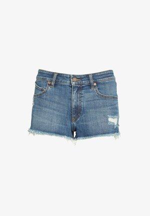 STONEY  - Jeans Shorts - blue