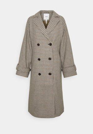 OBJKEILY COAT  - Klasický kabát - brown