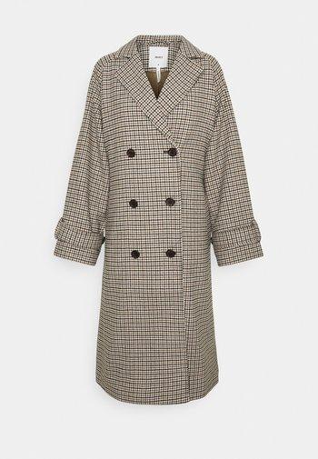 OBJKEILY COAT  - Cappotto classico - brown